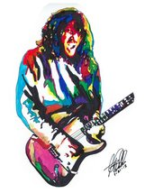"John Frusciante, Red Hot Chili Peppers, Guitar Player, Music, 18""x24"" Ar... - $19.99"