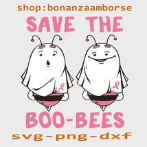 Save The Boo-bees Cute Svg Png Dxf digital files - $1.99