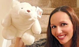 """Gund 1980 Large 10"""" White SNUFFLES Teddy Bear Plush Toy Doll #2169 NWT NEW - $37.39"""