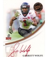 2007 Press Pass RC AutographBronze Red Ink #68 Garrett Wolfe/584* RC AUTO - $6.00