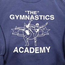 Vintage Jerzees The Gymnastics Academy Sweatshirt Size Large Blue Russel... - $35.99