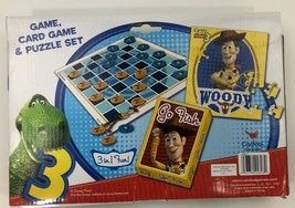 TOY STORY 3 Game 3in1 game, card, puzzle, Disney, Pixar, Go Fish, War. - $7.99