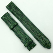 Cartier Authentic 15.5mm Green Leather Strap for Buckle 580OH10ODCO - $299.00