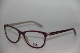 New Oakley OX1112-0453 Helio Standout Eyeglasses Authentic Rx 53-16 W/CASE - $65.55