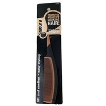 Conair Smooth Control Copper Collection Hair Comb #93121 Easy Styling Lift New - $9.36