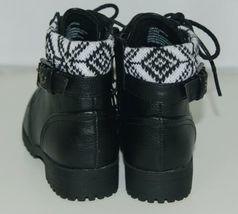 Arizona Jeans Company 6036002 Girls Ankle Boot Size 12 M AZ Lawton Black image 3