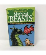 Mythical Beasts 52 Giant Creature Cards & Game Book - $2.96
