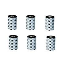Zebra Genuine 03200BK13145 5.16x1476' Black Wax-Resin Ribbon Pack of 6 - $236.06
