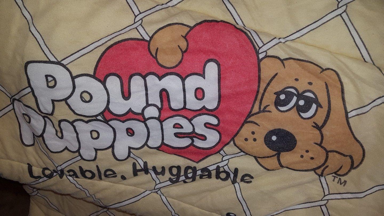 Pound Puppies Sleeping Bag - Vintage