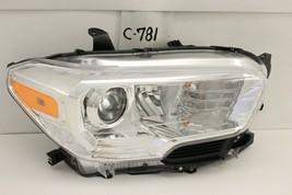 Oem Head Light Headlight Lamp Toyota Tacoma 16-19 Chrome Rh Chip Mount - $89.10