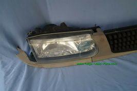 93-94 Nissan Tsuru Sunny Sentra B13 Headlights Head Light Lamps Set L&R w/ Grill image 10