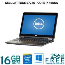"""Dell Latitude E7240 Core i7 4600U 8/16G 256GB SSD HDMI WiFi 12.5"""" LED W1... - $332.01+"""