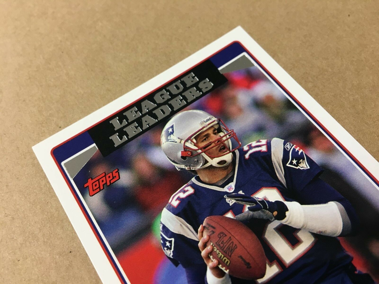 NM to Mint 2006 Tom Brady League Leaders Card 280 Topps Ready to Grade!