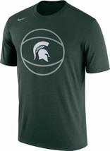 Michigan State Spartans Mens Nike DRI-FIT Legend Basketball T-Shirt - XL... - $24.99