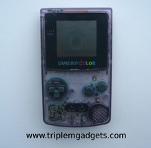Nintendo Game Boy Color Atomic Purple Handheld Console - $50.66