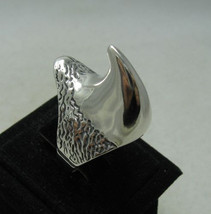 R001062 STERLING SILVER Ring Solid 925 Rhinoceros - $525,39 MXN