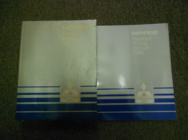 1985 Mitsubishi Mirage Service Repair Shop Manual 2 Vol Set Oem Book 85 Factory - $34.87