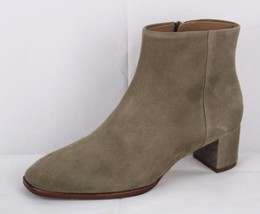 Via Spiga women's suede ankle boot light brown leather size 5M - $51.91