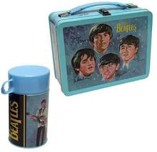 The Beatles Signatures Metal Lunch Box with Thermos New Lunchbox Limited Edition image 3