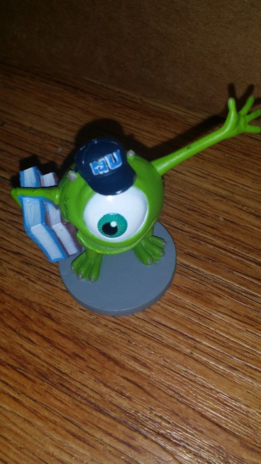Disney pixar MONSTERS INC. Toy Figures Cake Toppers Sulley Randall Mike PVC