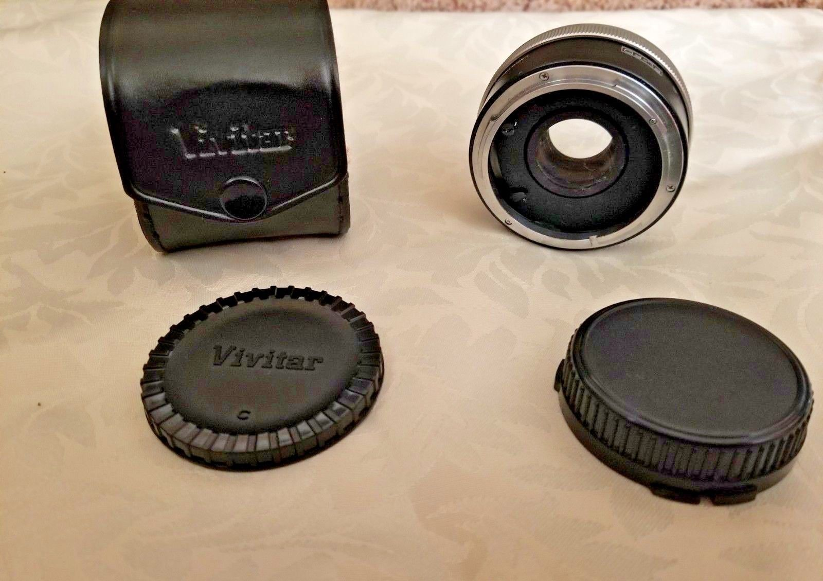 Vivitar Mc Tele Converter 2x4 FL-FD
