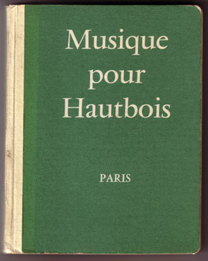 Primary image for Musique pour Hautbois (Music for Oboe, 1951)