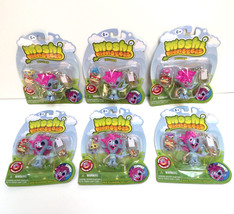 New 6 PACKS Moshi Monsters Keychain ZOMMER w charm party favors gift bag... - $8.90