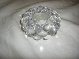 Crystal Honeycomb Votive, 2  NIB - $9.90