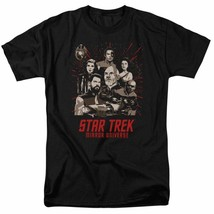 Star Trek Mirror Universe Parallel Universe Sci-Fi graphic t-shirt CBS2228 image 1