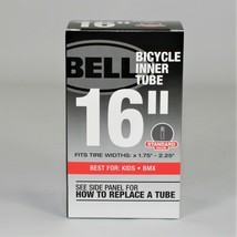 """Bell 16"""" Standard Valve Bicycle Inner Tube (Fits x 1.75"""" - 2.25"""") - $9.76"""