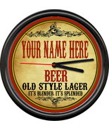 Personalized Your Name Beer Brewing Tavern Man Cave Retro Bar Sign Wall ... - $21.12