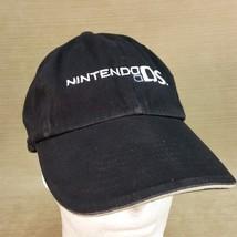 Nintendo DS Embroidered Black Hat Baseball Cap Adjustable Fastener Back - $14.95