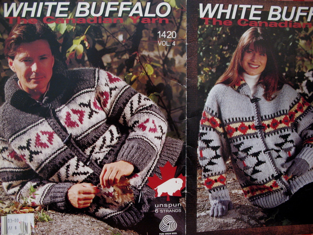 White Buffalo Canadian Cowichan Sweater And 50 Similar Items