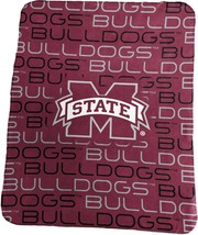 Mississippi State University Bulldogs Classic  Fleece Throw Blanket - $29.65