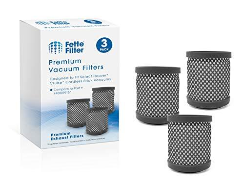 Fette Filter - Vacuums Filter Compatible for Hoover Cruise Cordless Ultra-Light