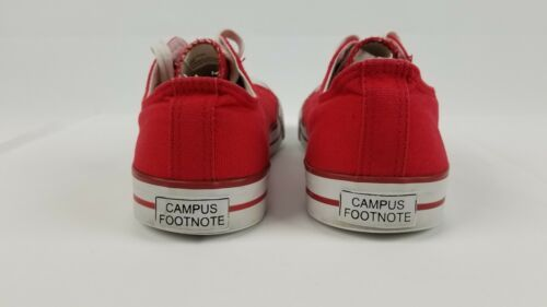 San Francisco SF Unisex Adult Converse Slip On Shoes Size 8m Red Campus Footnote image 8