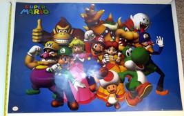 Super Mario Brothers Bros Laminated Nintendo Poster 3' x 2' FP1946 - $5.89