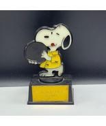 Aviva Peanuts Gang figurine united feature Snoopy 1972 worlds greatest b... - $33.66