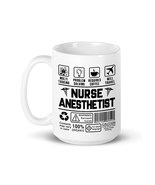 Nurse Anesthetist Coffee Mug Gifts - Best for Mom Grandma Aunt Daughter ... - $14.80+