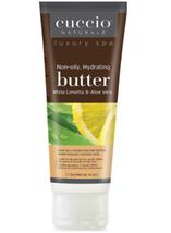 Cuccio Naturale Butter, White Limetta & Aloe Vera,  4 oz