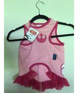 Star Wars Petco Pink Princess Leia Dog Dress Shirt New With Tags Sz X, X... - $15.00