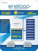 Panasonic eneloop Power Pack; 8AA, 4AAA, and Advanced Battery Quick Charger - $74.43