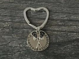 Lacrosse Keychain- Lacrosse Stick Keychain- Lacrosse Jewelry - €9,19 EUR