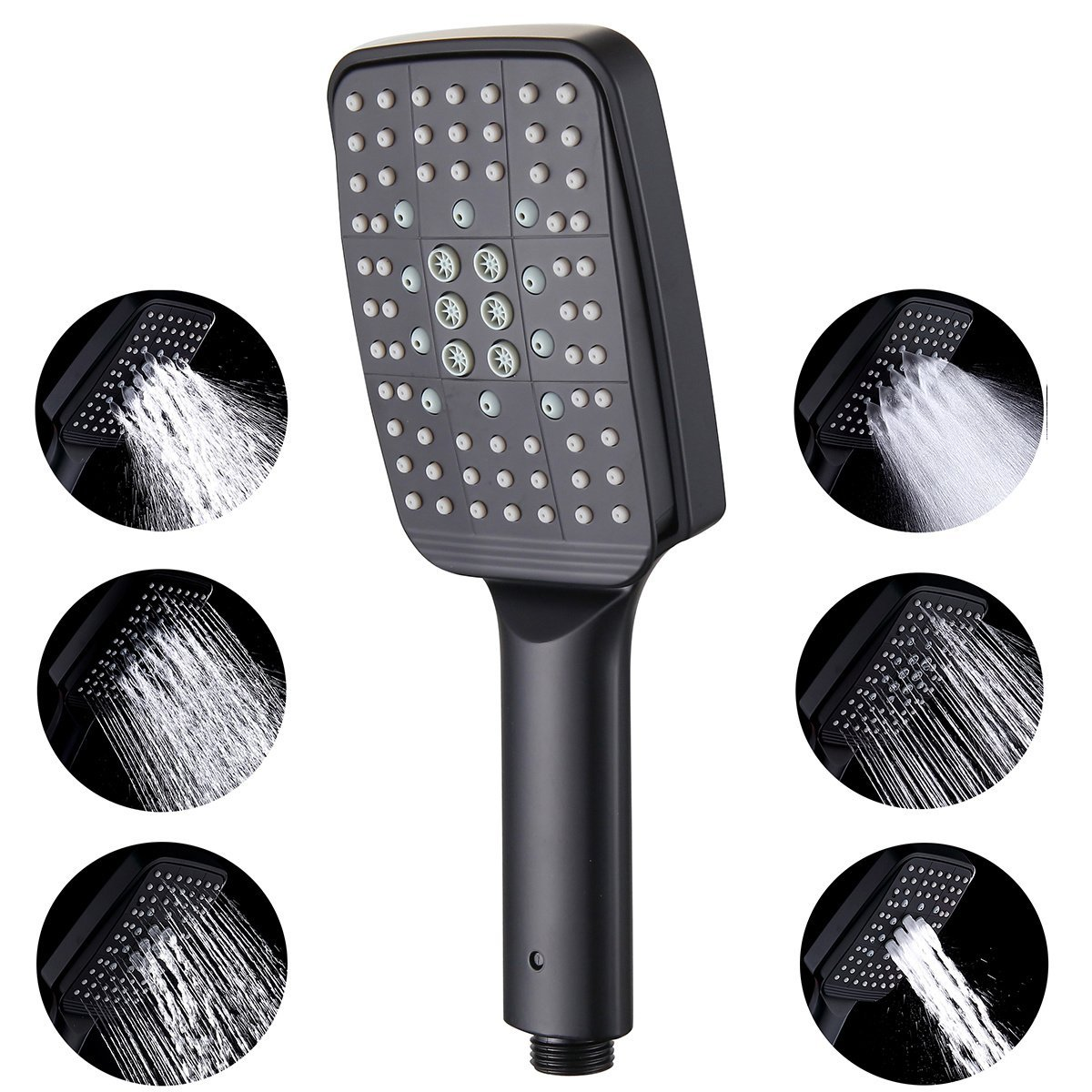 Primary image for RBROHANT Handheld Shower Head Replacement, 6 Function Modern Bathroom Removable