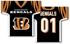 "Cincinnati Bengals 34"" x 30"" 2-Sided Jersey Banner  - $42.95"