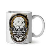 Death Rock Music Skull NEW White Tea Coffee Mug 11 oz | Wellcoda - $15.99