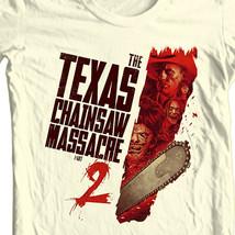 Texas Chainsaw Massacre 2 T-shirt retro classic horror movie free shipping image 1