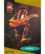 Jimmy Page trading Card (Musician) 1991 Proset Musicards Super Stars #18 - $4.00