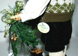 American Silkflower SO1683 Irish Santa Holding Garland with Shamrocks image 5