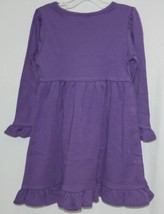 Blanks Boutique Long Sleeved Color Purple Ruffle Dress Size 3T image 2